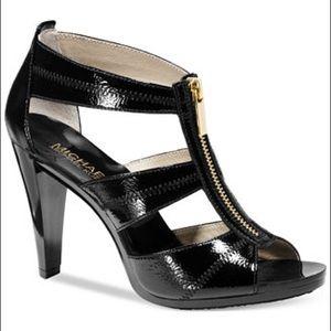 Michael Kors Berkeley T-Strap Sandal Patent